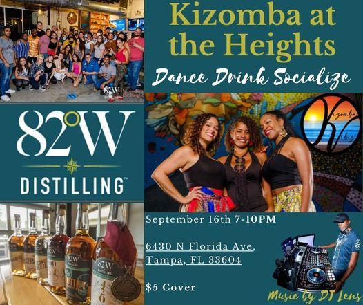 Kizomba at the Heights Fall Kick-off