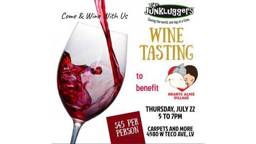 Wine Tasting to Benefit Hearts Alive Village