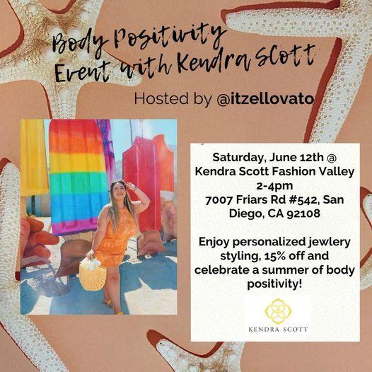 Body Positivity Event at Kendra Scott