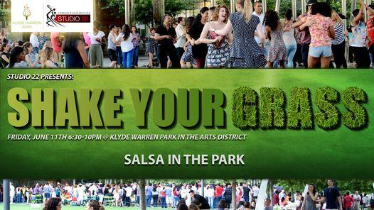 Salsa In The Park + Social Dancing, June 11th