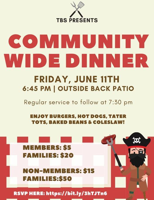 Community-Wide Dinner