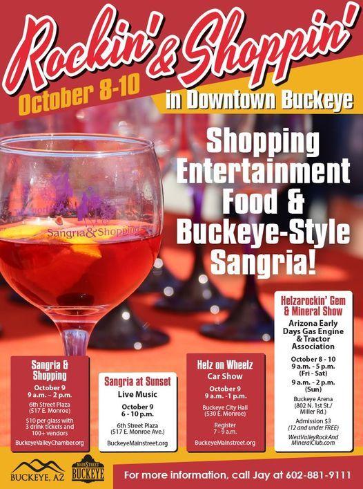 Rockin' & Shoppin' Downtown Buckeye
