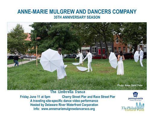 """Anne-Marie Mulgrew and Dancers Company Present's """"The Umbrella Dance"""""""