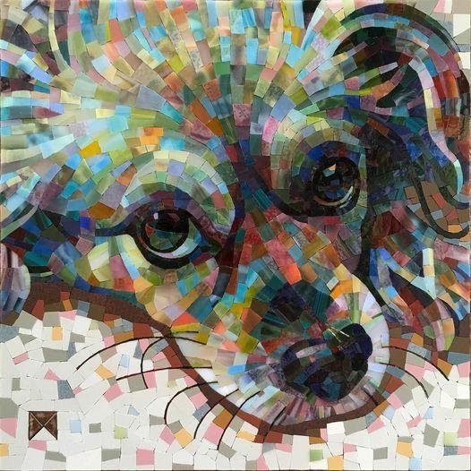 Color Freedom Pet\/Animal Portrait workshop with Donna Van Hooser