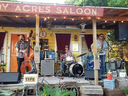 William and the Texas Starlight at Shady Acres Saloon!