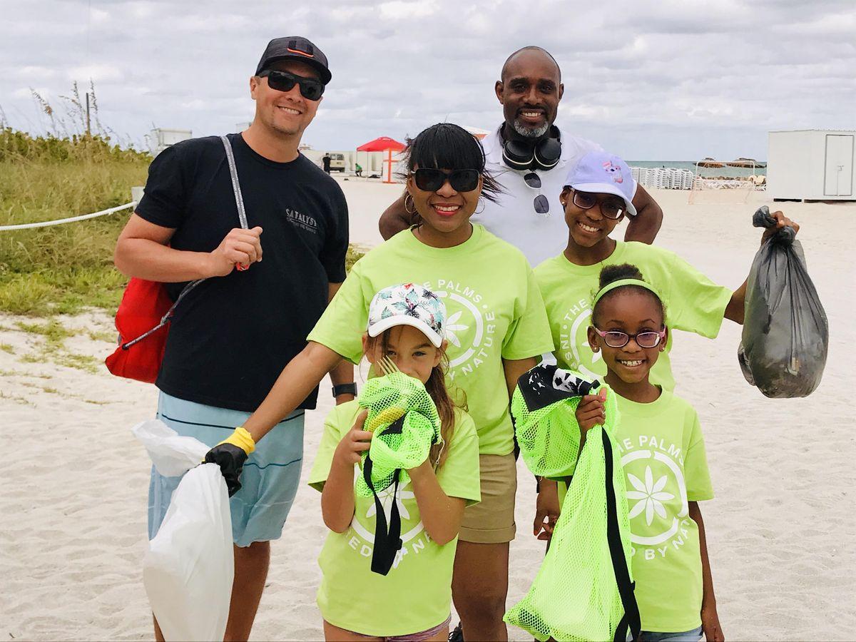 International Coastal Cleanup 2021 at The Palms Hotel & Spa