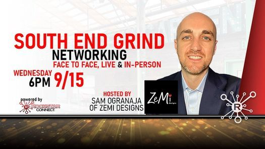 Free South End Grind Rockstar Connect Networking Event (September)