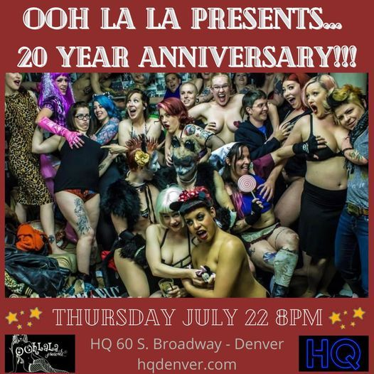 Ooh La La Presents... 20th Anniversary Show!