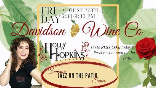 HHJazz @ Davidson Wine Co!