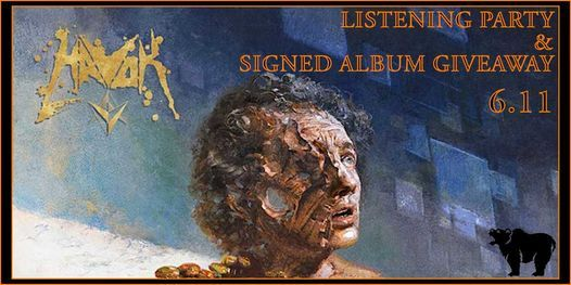 HAVOK V Listening Party & Signed Album Giveaway