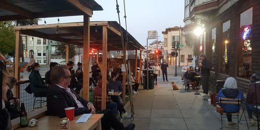 Outdoor Comedy at The BAR -on Dolores
