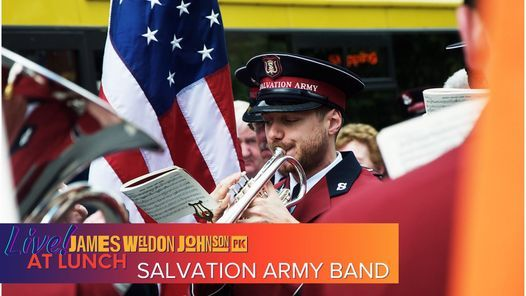 Live at Lunch with the Salvation Army Band