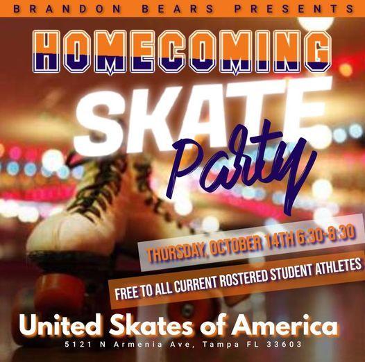 2021 Brandon Bears Homecoming Skate Party