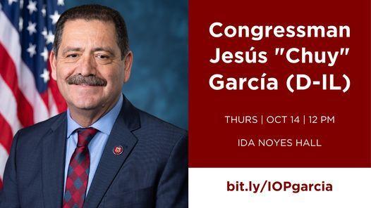 "Rep. Jes\u00fas ""Chuy"" Garcia (D-IL)"