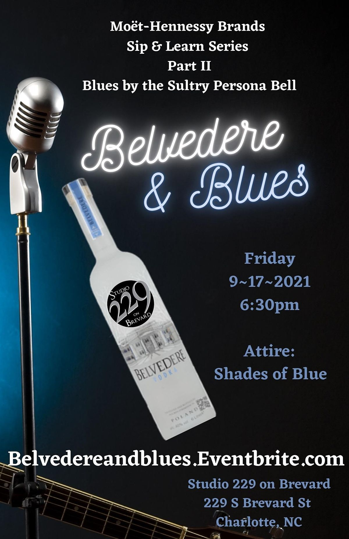 Belvedere & Blue - Wear Your Shades of Blue