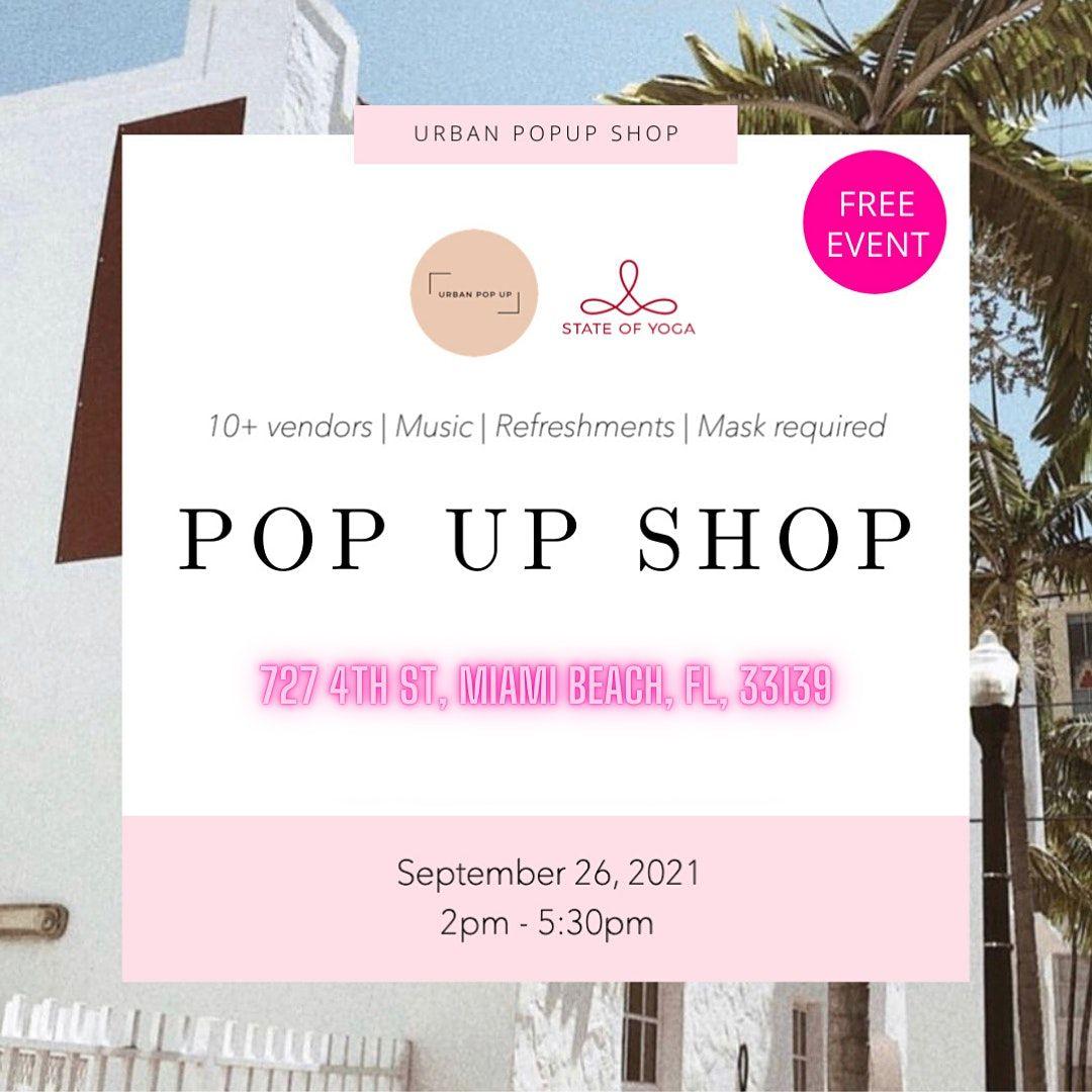 South Beach Pop Up 9\/25