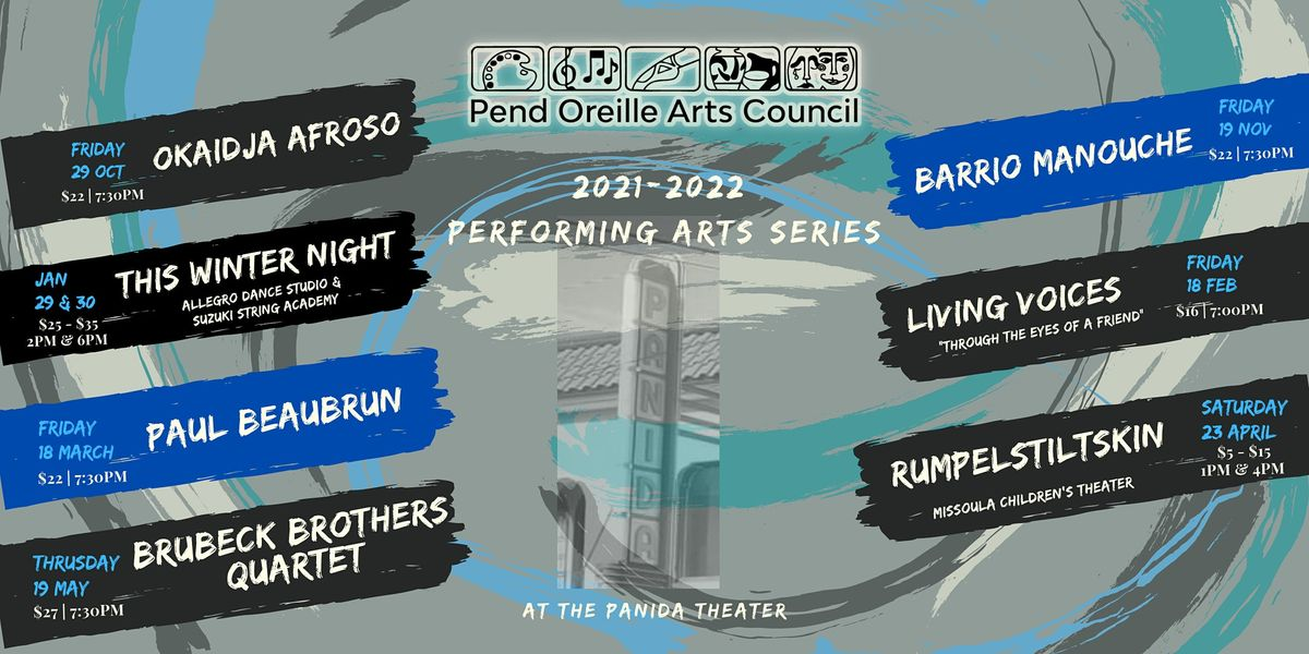 POAC's 2021-22 Performing Arts Series