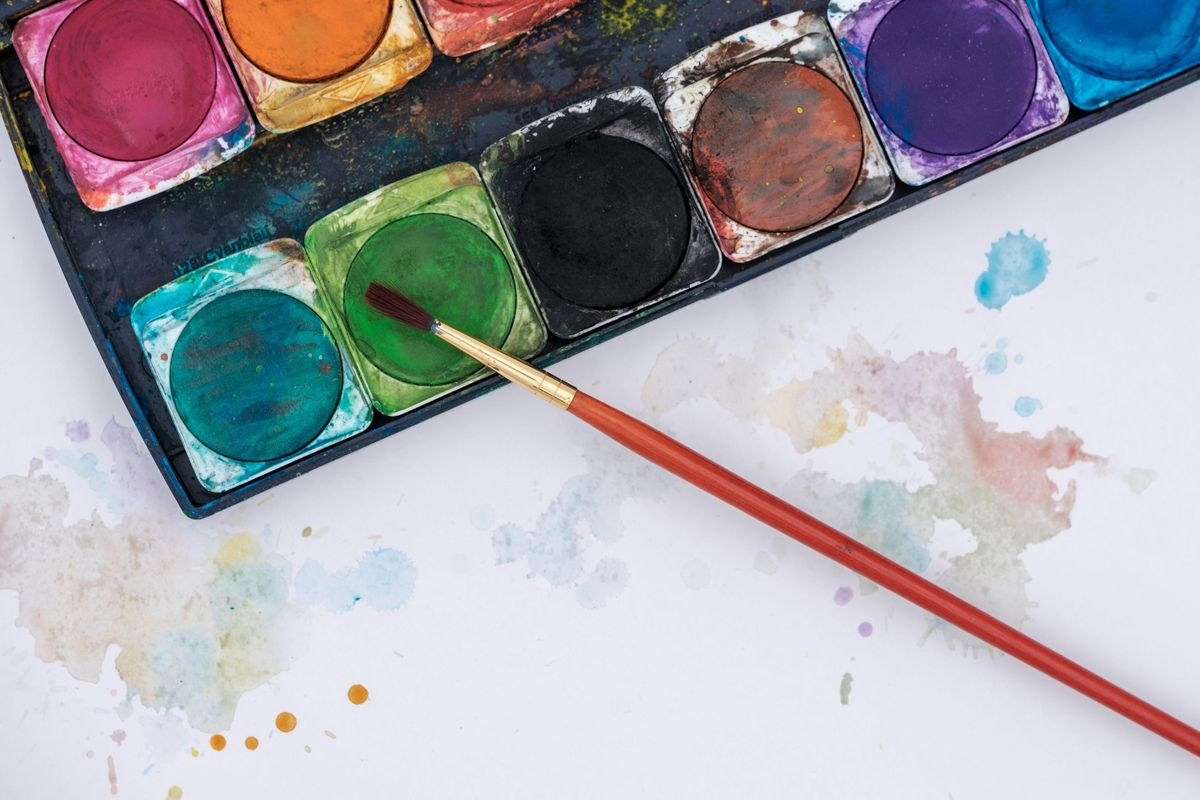 Watercolor Workshop at Thomas Jefferson Recreation Center