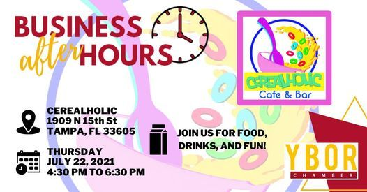 Business After Hours @ Cerealholic