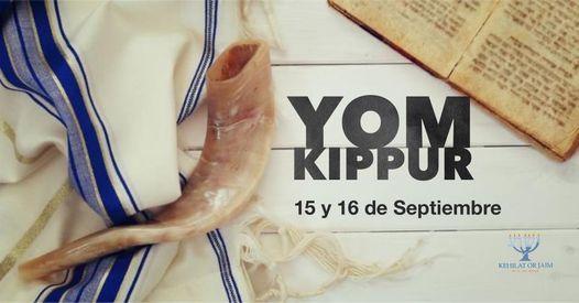 Erev Yom Kippur 2021
