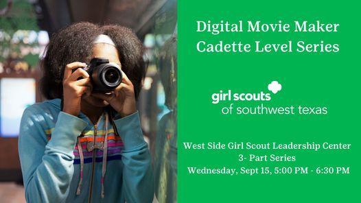 Digital Movie Maker Cadette Level 3-Part Series