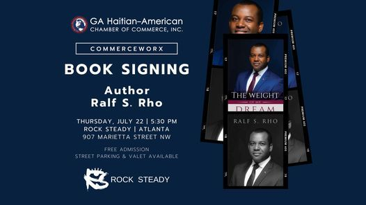Live Book Signing | Ralf S. Rho