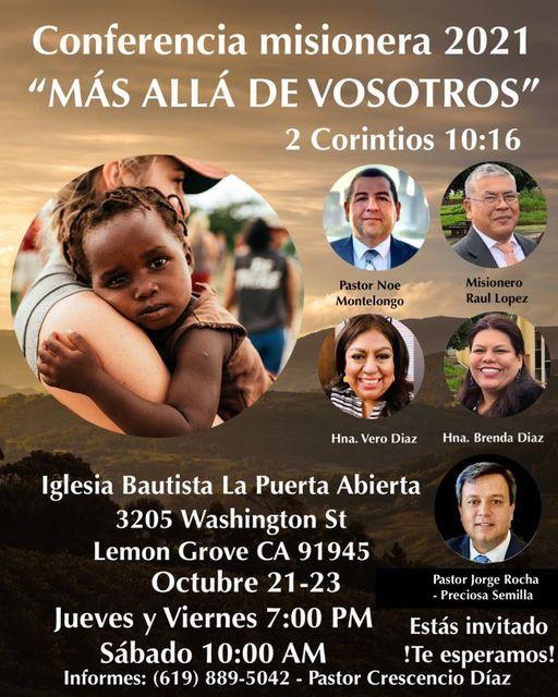 Conferencia misionera 2021