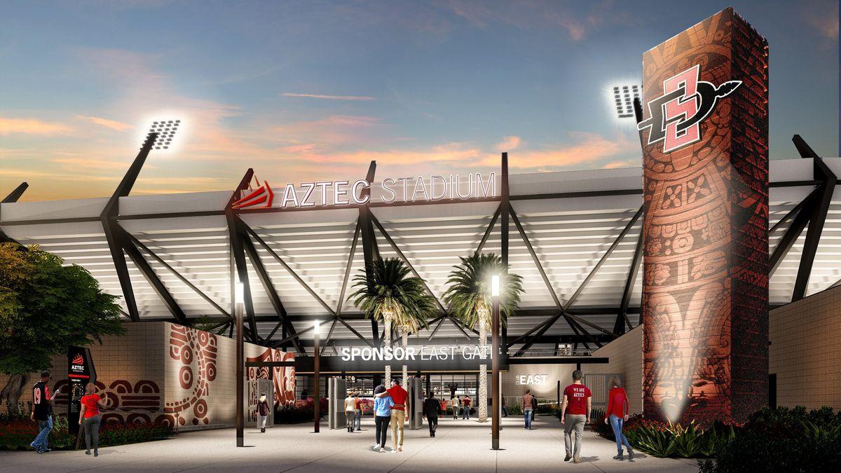 Meet your GC - Jobsite Tour - Clark Construction's SDSU Aztec Stadium Site