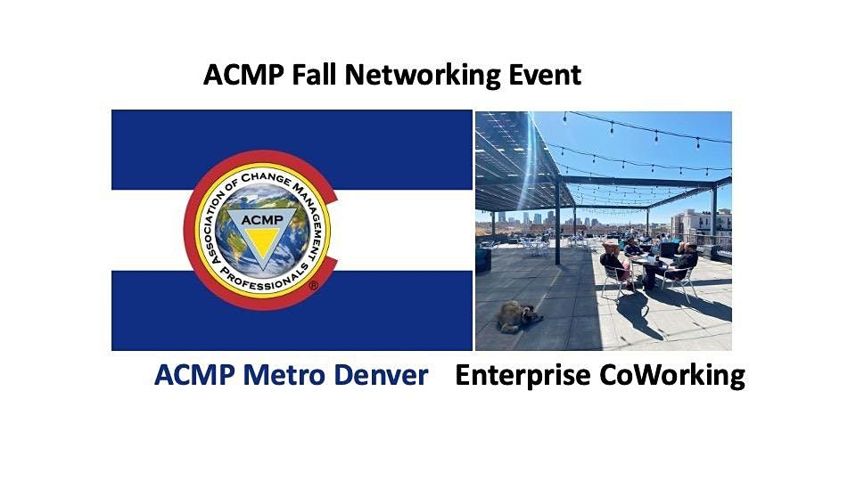 ACMP Fall Networking Event