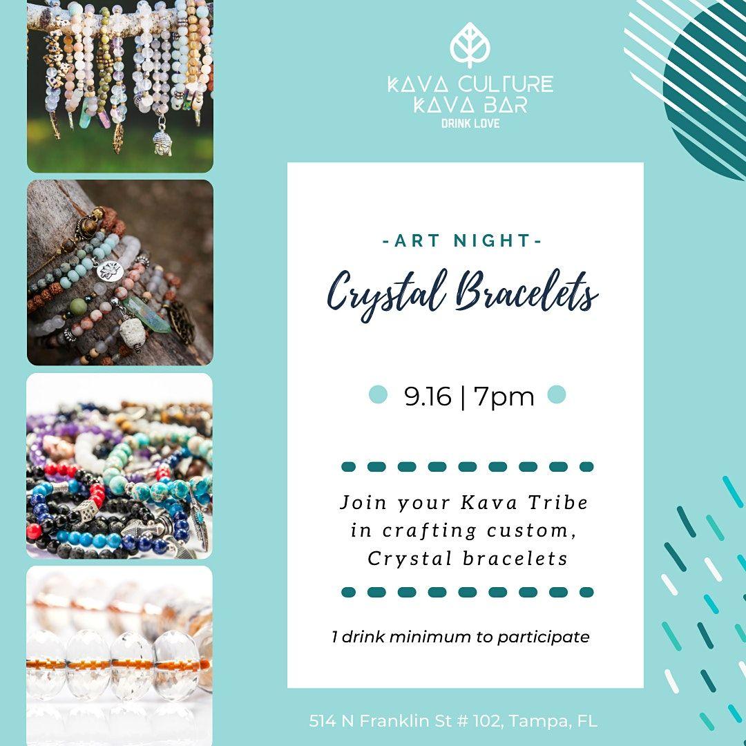 Art Night: Crystal Bracelets