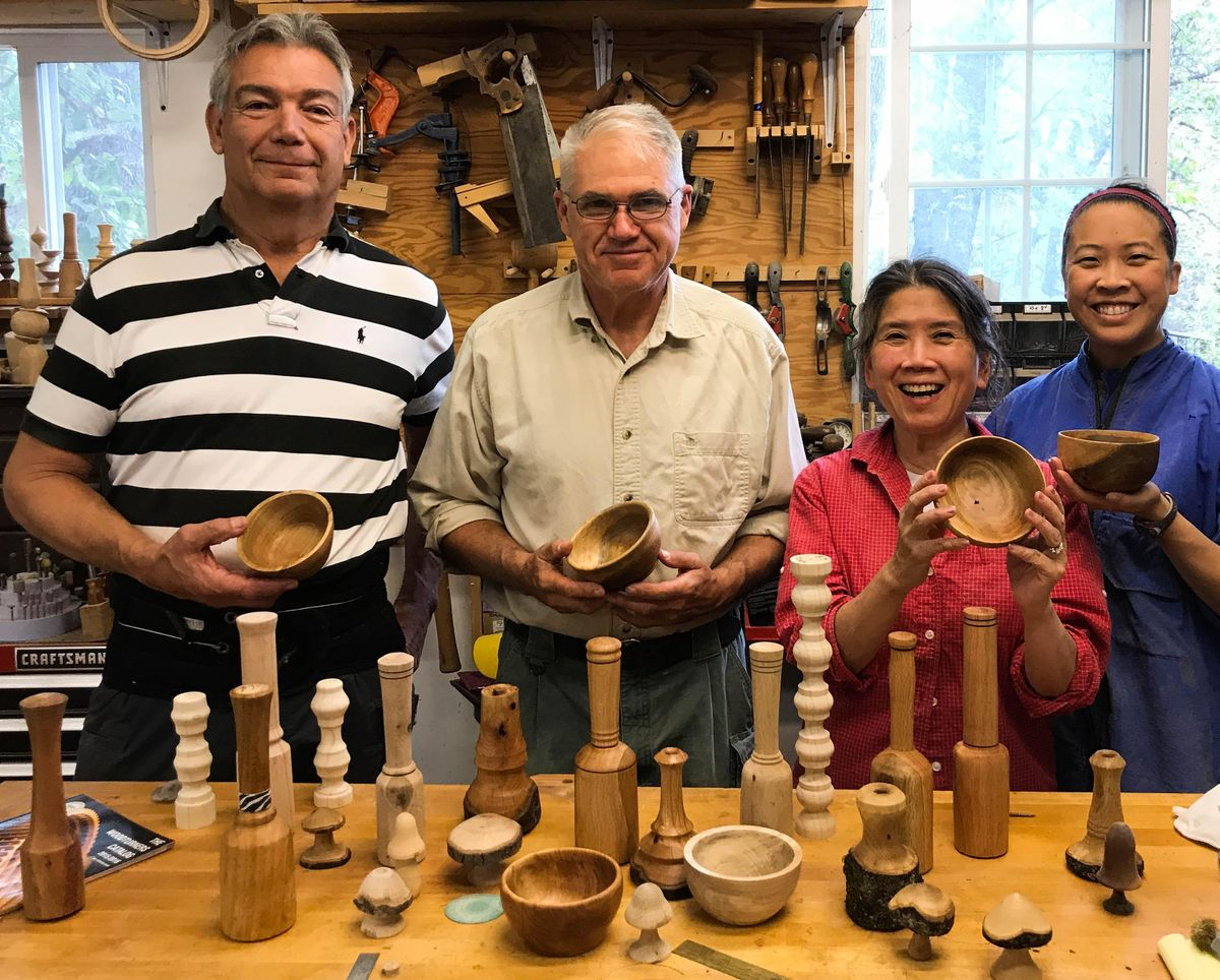 **NEW** Intro to Woodturning with Bill -- starting 9\/30\/2021