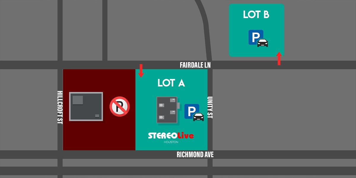Parking Pass - Stereo Live Houston - 6\/11\/21