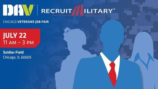 DAV | RecruitMilitary Chicago Veterans Job Fair