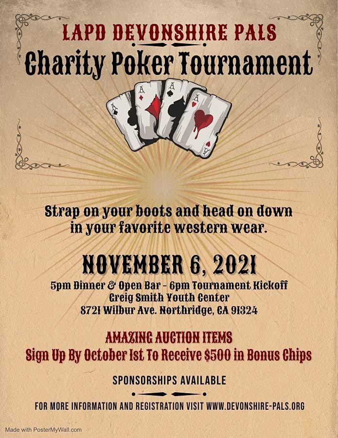 LAPD Devonshire PALS Charity Poker Tournament