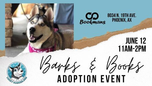 Barks & Books Adoption w
