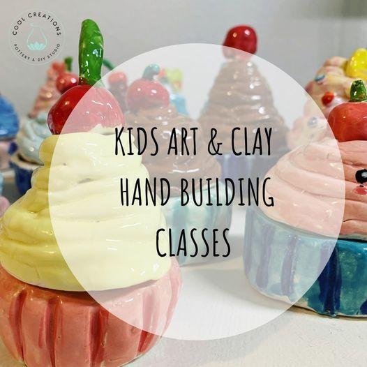 Kids CLAY & ART Classes Wednesdays, Sep 15-Oct 21, 2021