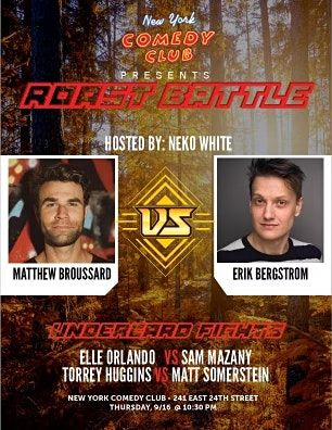 New York Comedy Club - Roast Battle 9\/16