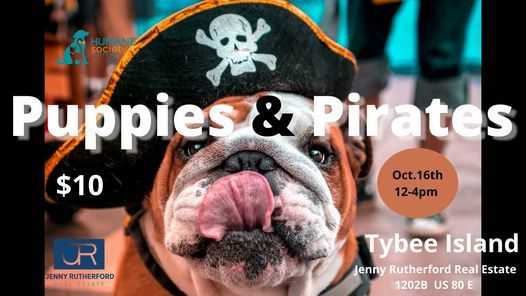 Puppies and Pirates Treasure Hunt & Adoption Event with the Humane Society