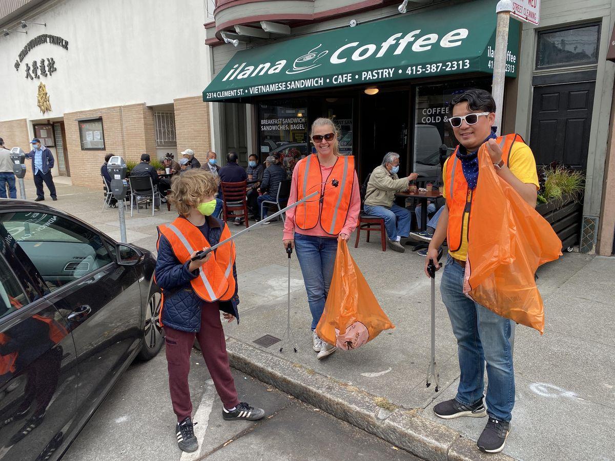 Masonic Avenue Cleanup