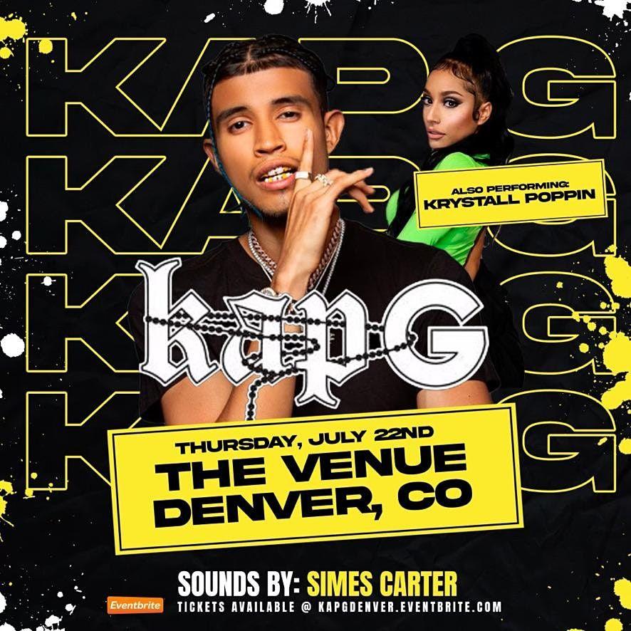 Kap G @ The Venue \/ Denver, Co