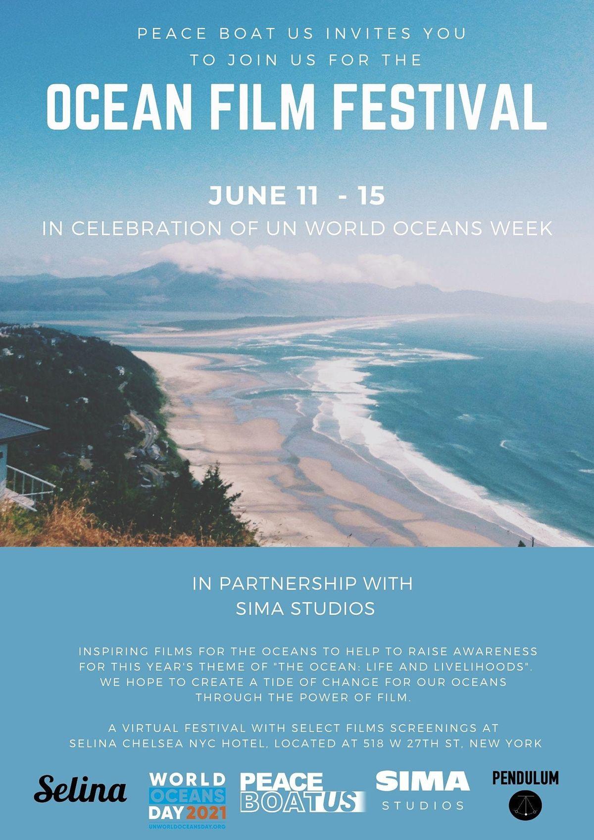 Ocean Film Festival in celebration of the United Nations World Oceans Week