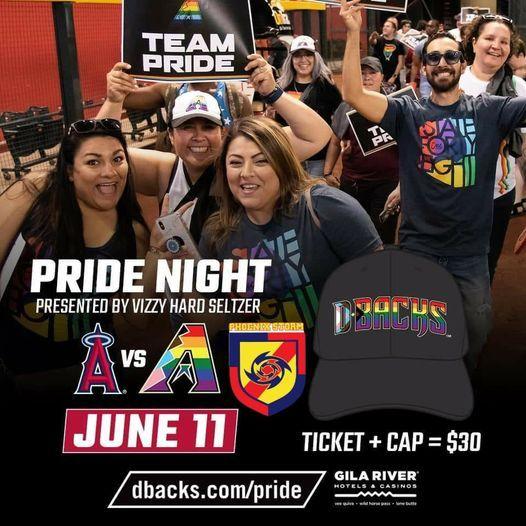 Storm @ Pride Night- baseball Game
