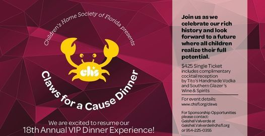 18th Annual Claws for a Cause Dinner