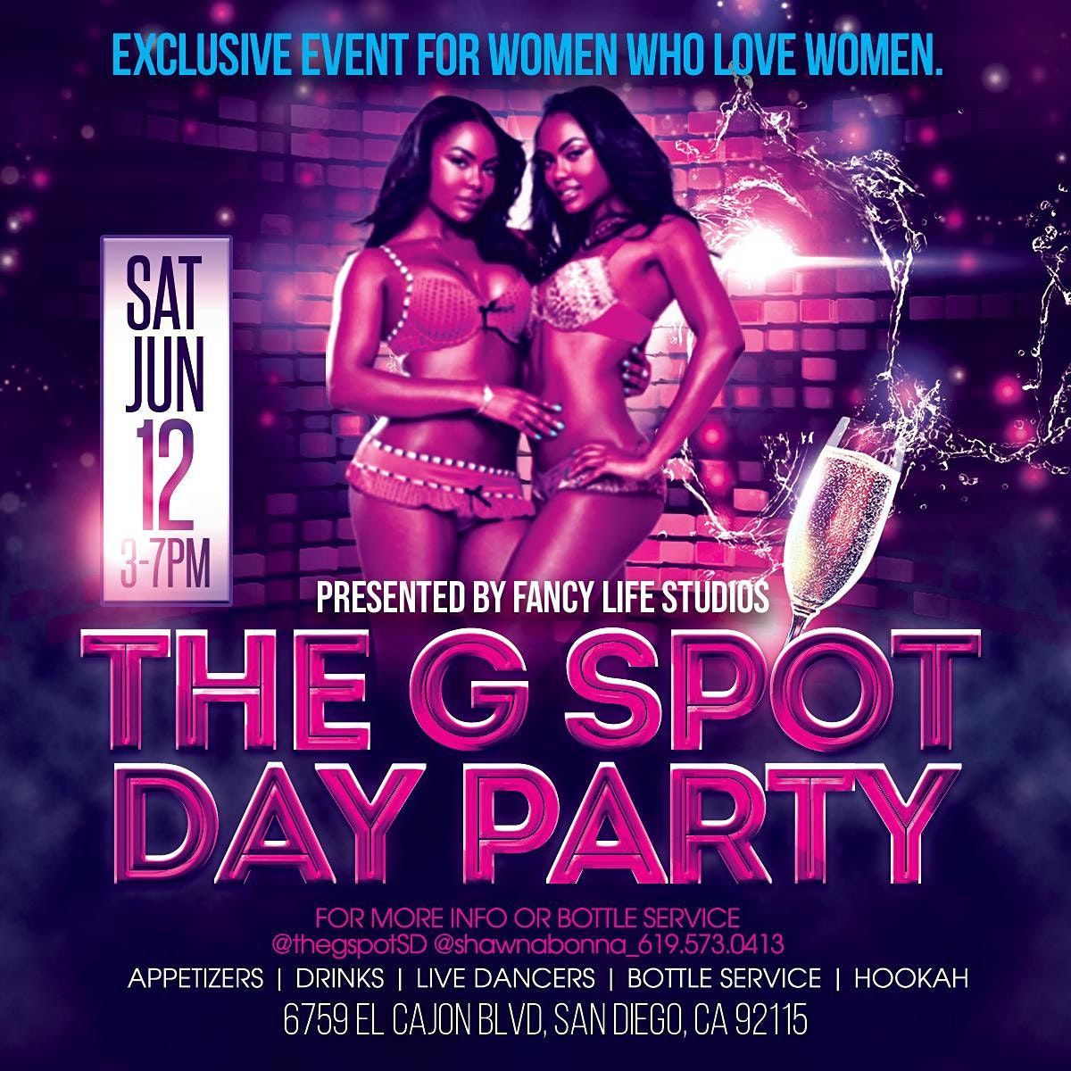 The G Spot \u201cAll Girl\u201d Day Party