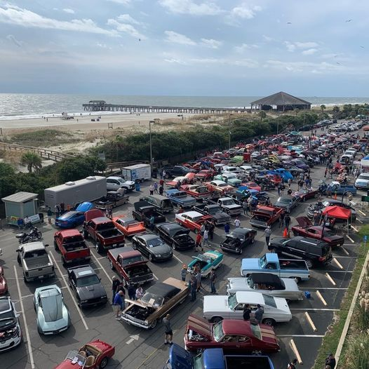"""12th Annual Tybee ICE """"Out Of The Darkness"""" Hot Rod & Classic Car Show for Suicide Prevention."""