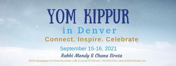 Yom Kippur in Denver