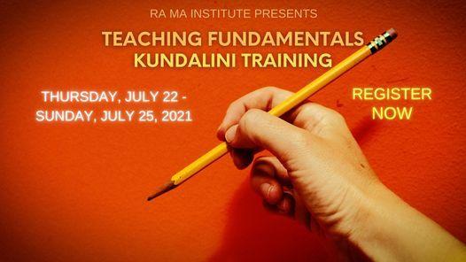 Teaching Fundamentals: Kundalini Training