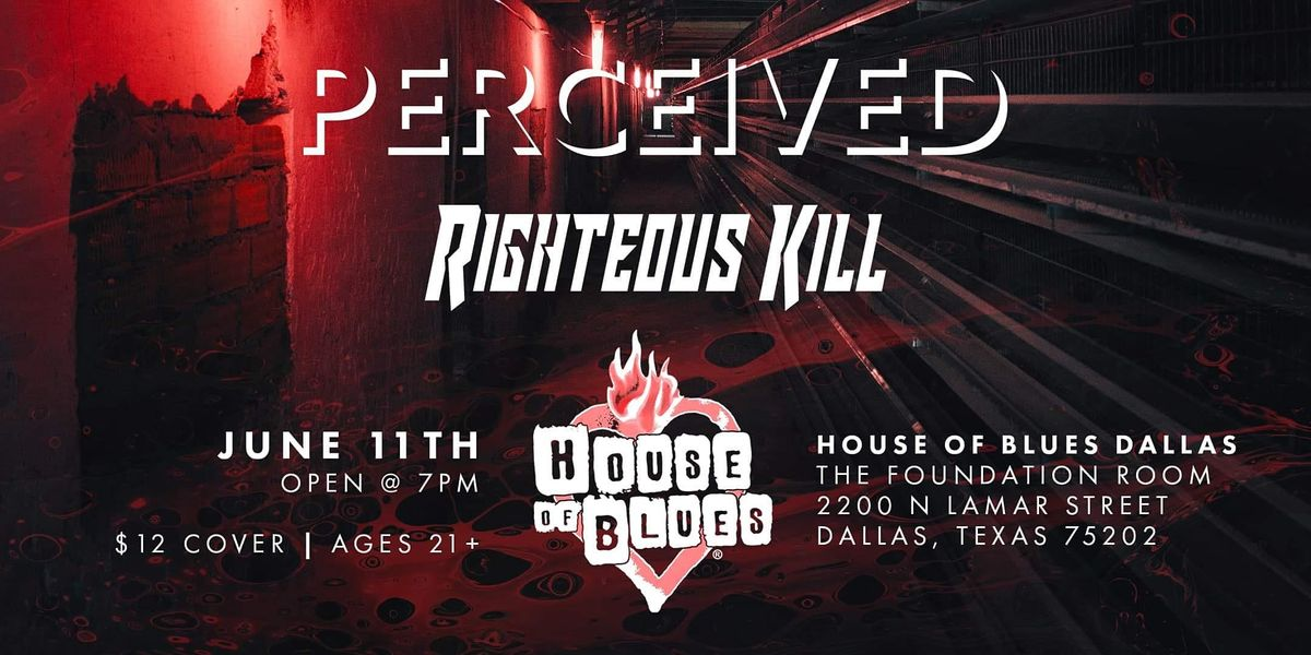 Righteous K*ll at House of Blues Dallas Foundation Room