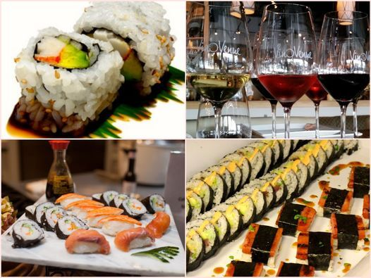 Entertaining with Ease Series: Sushi Like a Pro Cooking Class