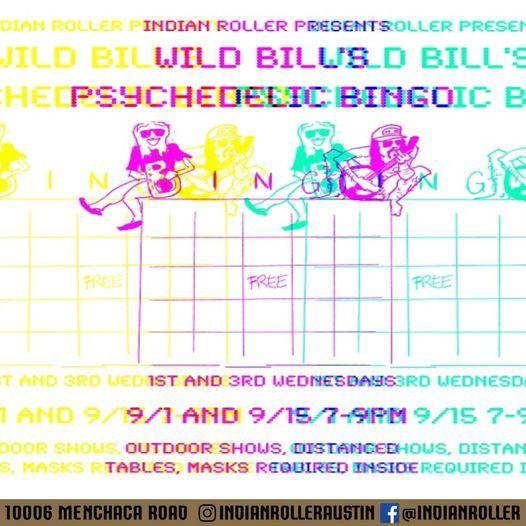 Wild Bills Psychedelic Bingo!